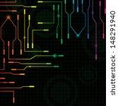 abstract background   vector... | Shutterstock .eps vector #148291940