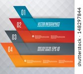 step by step infographics... | Shutterstock .eps vector #148297844