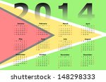 calendar design for 2014 with... | Shutterstock . vector #148298333