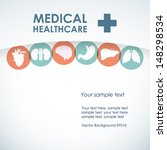 medical concept. health and...   Shutterstock .eps vector #148298534