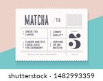 vintage minimal label. set of... | Shutterstock .eps vector #1482993359