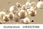 beautiful abstract background... | Shutterstock . vector #1483025486