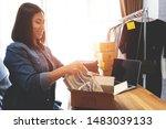 online selling e commerce... | Shutterstock . vector #1483039133