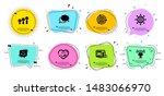 international globe  smile chat ... | Shutterstock .eps vector #1483066970