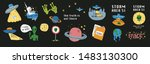 Cute Cosmos Stickers Set...