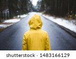 Person In The Yellow Raincoat...