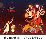 illustration of hindu... | Shutterstock .eps vector #1483179623