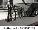 paper loading part of an offset ... | Shutterstock . vector #1483186130