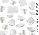Kitchen Tableware Items Patter...