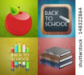 back to school | Shutterstock .eps vector #148322864
