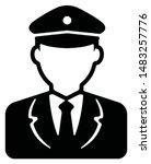 worker avatar icon... | Shutterstock .eps vector #1483257776