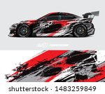 car graphic design concept.... | Shutterstock .eps vector #1483259849