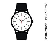wrist watch icon. symbol watch... | Shutterstock .eps vector #1483278749