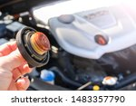 check the engine oil condition... | Shutterstock . vector #1483357790
