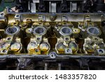 a car engine that must be... | Shutterstock . vector #1483357820