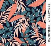trending abstract seamless... | Shutterstock .eps vector #1483394396