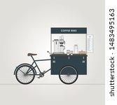 Street Food Bike. Coffee...