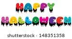 halloween text | Shutterstock .eps vector #148351358