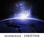 lights on earth  elements of... | Shutterstock . vector #148357046