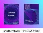 music cover design. a set of...   Shutterstock .eps vector #1483655930