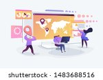 global business research ...   Shutterstock .eps vector #1483688516