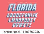 light blue vintage bold... | Shutterstock .eps vector #1483703966