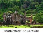 View Of Vat Phou Or Wat Phu Is...