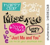 Doodles Love Word
