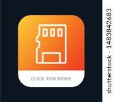 card  memory  memory card  sd... | Shutterstock .eps vector #1483842683