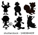 Illustration Of The Silhouette...