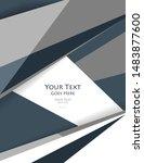 abstract modern templates.... | Shutterstock .eps vector #1483877600