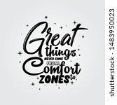 inspirational quote great...   Shutterstock .eps vector #1483950023