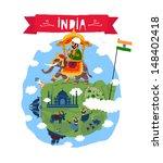 India. Vector icon
