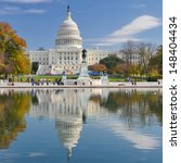 united states capitol  ...   Shutterstock . vector #148404434