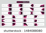 modern collection style of web... | Shutterstock .eps vector #1484088080