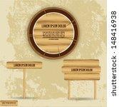 wood texture   Shutterstock .eps vector #148416938