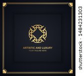 artistic and luxury logo. can... | Shutterstock .eps vector #1484231303