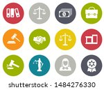 vector collection or set of law ... | Shutterstock .eps vector #1484276330