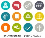 vector collection or set of law ... | Shutterstock .eps vector #1484276333
