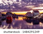 Peggy's Cove. Scenic View Of A...