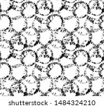 hand painting abstract... | Shutterstock . vector #1484324210