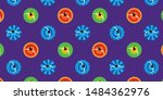 india navratri garba dance top... | Shutterstock .eps vector #1484362976