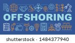 offshoring word concepts banner....