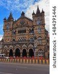 Small photo of Mombai,India,9,2007;Chhatrapati Shivaji Terminus old Victoria Terminus