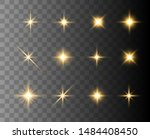 bright flashes. beautiful light ... | Shutterstock .eps vector #1484408450