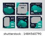 modern promotion square web... | Shutterstock .eps vector #1484560790