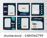 modern promotion square web... | Shutterstock .eps vector #1484560799