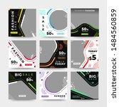 modern promotion square web... | Shutterstock .eps vector #1484560859