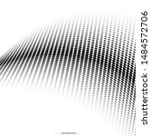 abstract halftone dotted... | Shutterstock .eps vector #1484572706