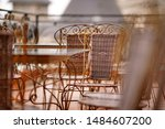 Stock photo the picture of table and chair in various type of cafeteria 1484607200